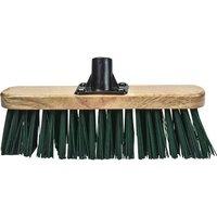 Faithfull Threaded Socket Stiff Green Broom Head 12 12