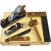 Faithfull 5 Piece Carpenters Woodworking Tool Kit