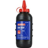 Faithfull Chalk Line Powder Red