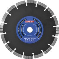 Faithfull Multi Purpose Diamond Cutting Disc 300mm