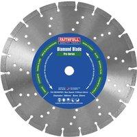 Faithfull Professional Diamond Cutting Disc 300mm