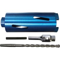 Faithfull Diamond Core Drill Bit & Accessory Kit 127mm