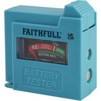 Faithfull Battery Tester