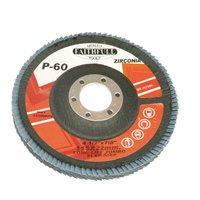 Faithfull Zirconium Abrasive Flap Disc 115mm Fine