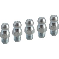 Faithfull Grease Nipple Straight Metric M6 x 1.0mm Pitch