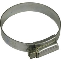 Faithfull Zinc Plated Hose Clips 35mm - 50mm Pack of 1