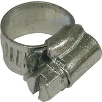 Faithfull Zinc Plated Hose Clips 11mm - 16mm Pack of 1