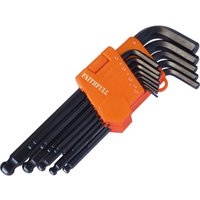 Faithful 13 Piece Long Ball End Hexagon Allen Key Set
