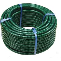 "Faithfull PVC Reinforced Garden Hose Pipe 1/2"" / 12.5mm 30m Green"