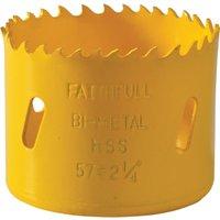 Faithfull Varipitch Bi Metal Hole Saw 57mm