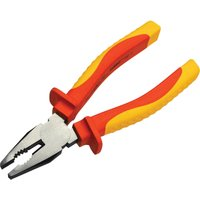 Faithfull VDE Insulated Combination Pliers 180mm