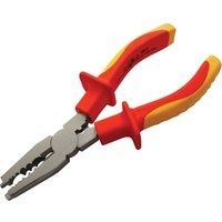 Faithfull VDE Insulated Combination Pliers 160mm