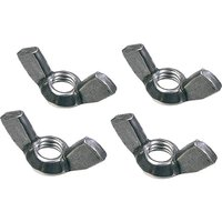 Faithfull External Building Profile Wing Nuts Pack of 4