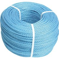 Faithfull Blue Poly Rope 10mm 30m