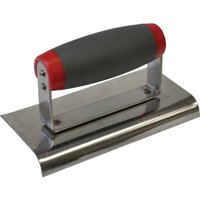 Faithfull Soft Grip Edging Trowel 6 3