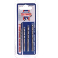 Faithfull Pilot Drill Set for Screwsinks Pack of 4