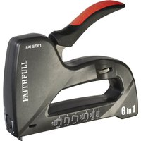 Faithfull Heavy Duty 6 in 1 Nail & Staple Gun