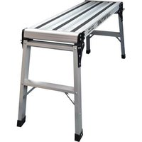 Faithfull Aluminium 2 Step Hop Up Work Platform