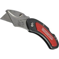 Faithfull Lockable Folding Utility Pocket Knife