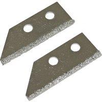 Faithfull Carbide Tile Grout Rake Blades