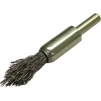 Faithfull Point End Crimped Wire Brush 23mm 6mm Shank