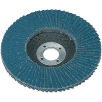 Sealey Zirconium Abrasive Flap Disc 100mm 40g