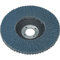 Sealey Zirconium Abrasive Flap Disc 100mm 80g