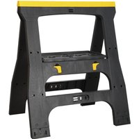 Sealey Heavy Duty Composite Folding Trestle Pack of 2
