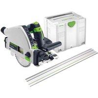 Festool TS55 REBQ   FS Plunge Cut Circular Saw and Guide Rail Kit 240v 240v