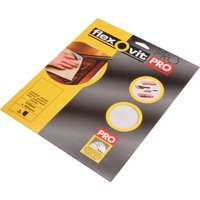Flexovit Silicon Carbide Finishing Sanding Sheets Medium Pack of 3