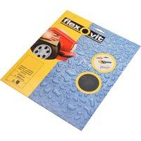 Flexovit Waterproof Sanding Sheets Coarse Pack of 3