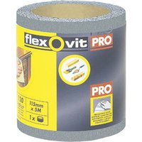 Flexovit High Performance Finishing Sanding Roll 115mm 5m 240g