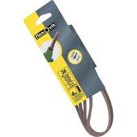 Flexovit Powerfile Sanding Belts 13mm x 454mm 13mm x 454mm 80g Pack of 4