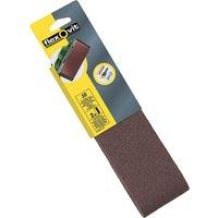 Flexovit Sanding Belts 75 x 533mm 80g Pack of 2