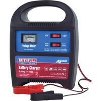 Faithfull Power Plus Automtove Battery Charger 6v or 12v