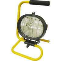 Faithfull 500w Portable Halogen Site Light 240v