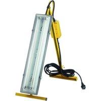 Faithfull Power Plus Plasterers Fluorescent Folding Light 18w 240v