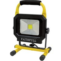 Faithfull Power Plus LED Pod Site Light 1400 Lumen 20w 240v