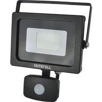Faithfull Security Light With Pir 1600 Lumen 240v