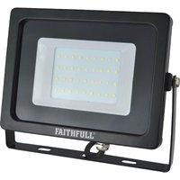 Faithfull SMD LED Wall Mounted Floodlight 240v