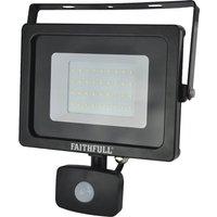 Faithfull Security Light With Pir 2400 Lumen 240v