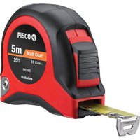 Fisco Tape Measure Imperial & Metric 16ft / 5m 19mm