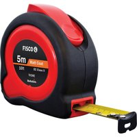Fisco Tuf-Lok Tape Measure Imperial & Metric 16ft / 5m 19mm