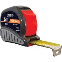 Fisco Tri-Lok Tape Measure Imperial & Metric 16ft / 5m 25mm