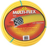 CK Multi Flex Garden Hose Pipe 1/2 / 12.5mm 50m Yellow