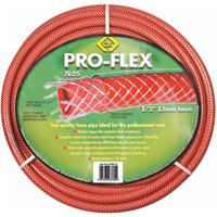 "CK Pro Flex Garden Hose Pipe 1/2"" / 12.5mm 15m Red"