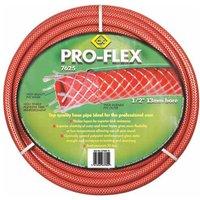 """CK Pro Flex Garden Hose Pipe 3/4"""" / 19mm 15m Red"""