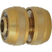 "CK Brass Garden Hose Pipe Repair Connector 3/4"" / 19mm Pack of 1"