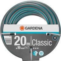 Gardena Classic Hose Pipe 3/4 / 19mm 20m Blue & Grey