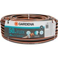 Gardena Comfort FLEX Hose Pipe 3/4 / 19mm 50m Grey & Orange